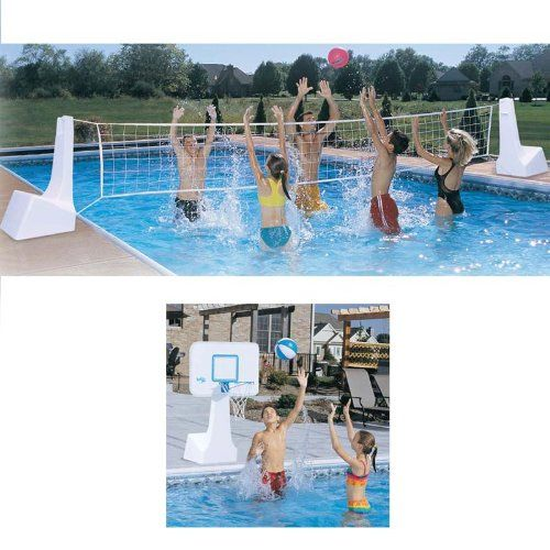 32 Best Images About Pool Basketball Hoop On Pinterest
