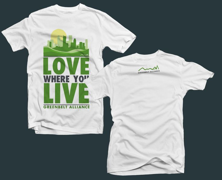 Cool tshirt designs for organizations for T shirt printing for non profit organizations