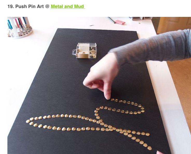 Push Pin Art