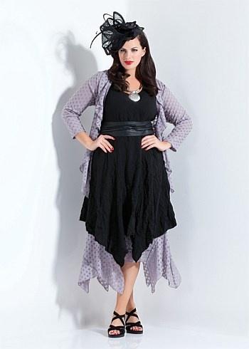 #TS14+ Eclipse Plain Sizzle Dress  #plussize #curvy #racewear