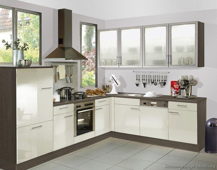 Cool Modern Two Tone Kitchen