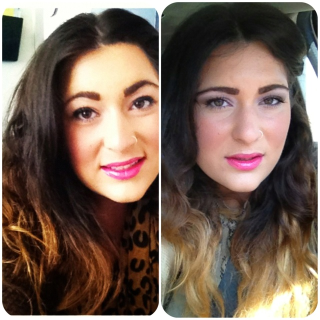 Ombrè Hair Before & After. I Used Fèria 205 Extra
