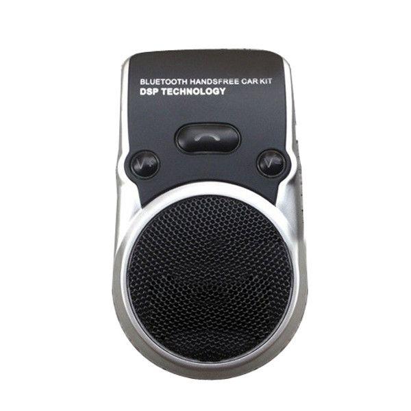Coche Solar Inalámbrico BT Manos Libres Teléfono con Altavoz con Coche Cargador