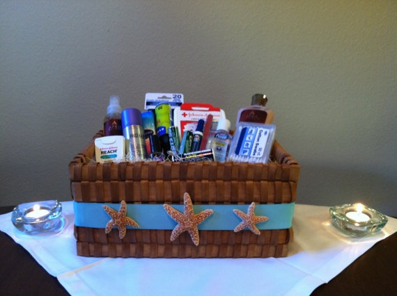 Best Wedding Bathroom Baskets Images On Pinterest Wedding