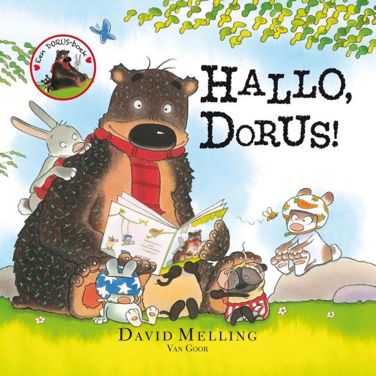 Een dag uit het leven van de grote knuffelvriend Dorus. Van opstaan, ontbijten en tandenpoetsen tot spelen met vriendjes en naar bed gaan. Met natuurlijk een heleboel knuffels. Want als Dorus ergens gek op is, dan is het wel op knuffelen!