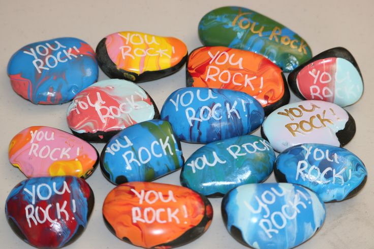 Kindness Rocks to the many people who donated to the craft drive.
