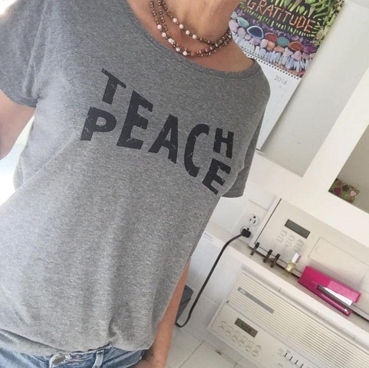 Teach Peace | Graphic Tee | T-Shirt