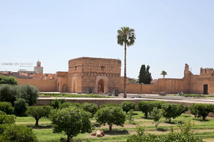 Photographie Marrakech * Palais El Badii www.commeuninstant.com