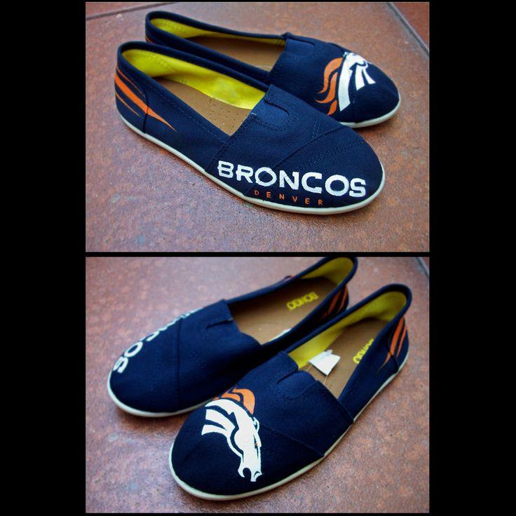 Denver Broncos Baby Shoes