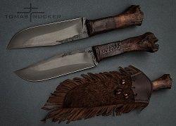Kovaný nůž.cz - Ručně kované nože - Tomáš Rücker - Tomas Rucker KNIVES