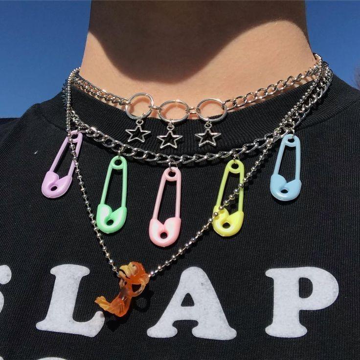 Pin by natkabe on biżu Grunge jewelry, Cute jewelry