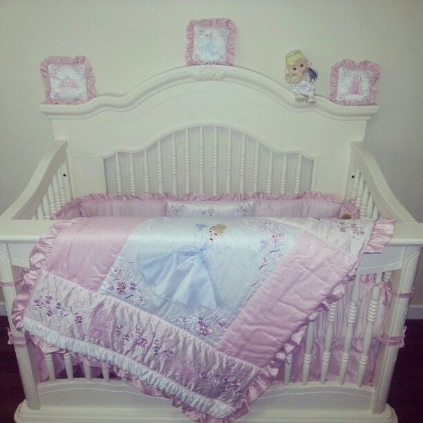 cinderella crib bedding 2