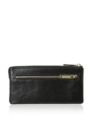 66% OFF Zenith Women's Zip Wallet, Black