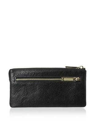66% OFF Zenith Women's Zip Wallet, Black