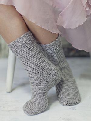 Virkatut sukat Novita 7 Veljestä | Novita knits