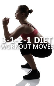 From The Biggest Loser, Dolvett Qunice ran through workout exercise moves to help you burn fat and tone your muscles on The 3-1-2-1 Diet.