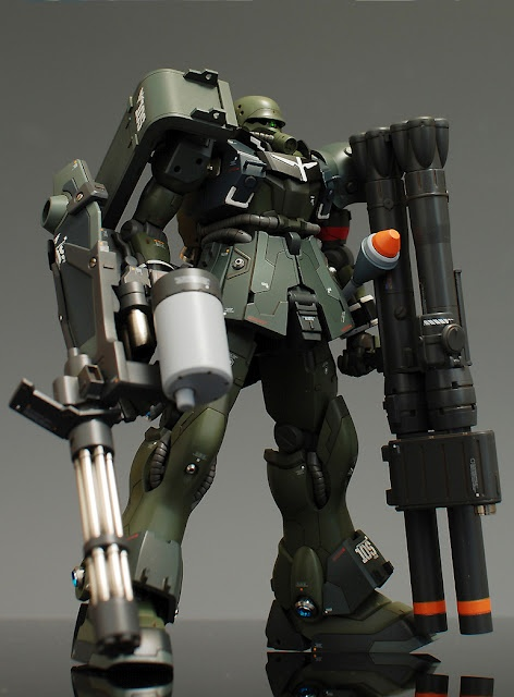 HGUC 1/144 AMS-129 Geara Zulu - Customized Build  Modeled by ghost