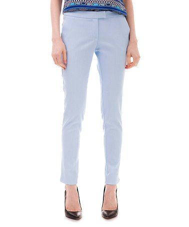 Loving this Light Blue Skinny Pants on #zulily! #zulilyfinds