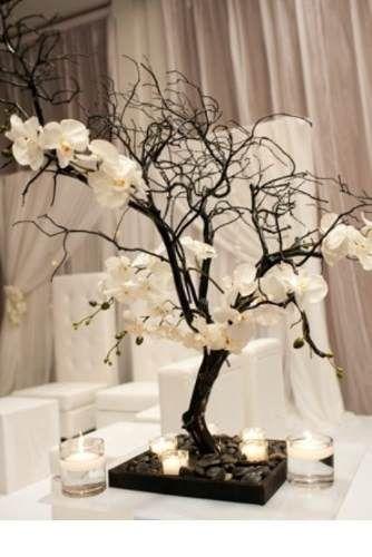 centro de mesa arbol de los deseos para boda, xv años