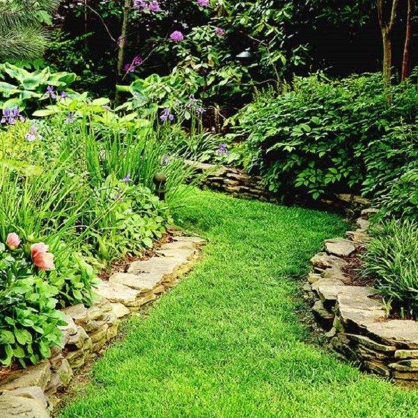 caminos de hierda hondulada con un aspecto muy natural