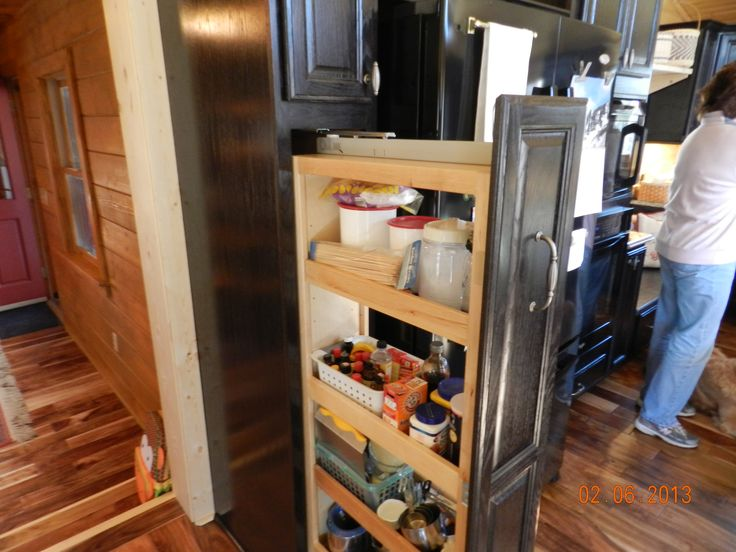 Kraftmaid Tall Pantry pull-out Cabinet | kraftmaid kitchen by ...