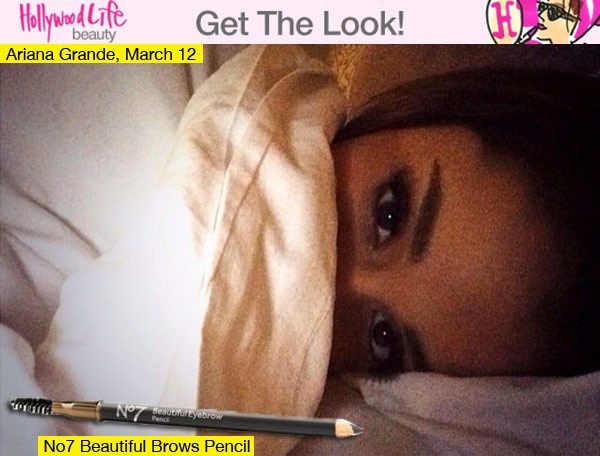Ariana Grande's Thick Eyebrows — Get Her Sultry Look                                                                                                                                                                                 More