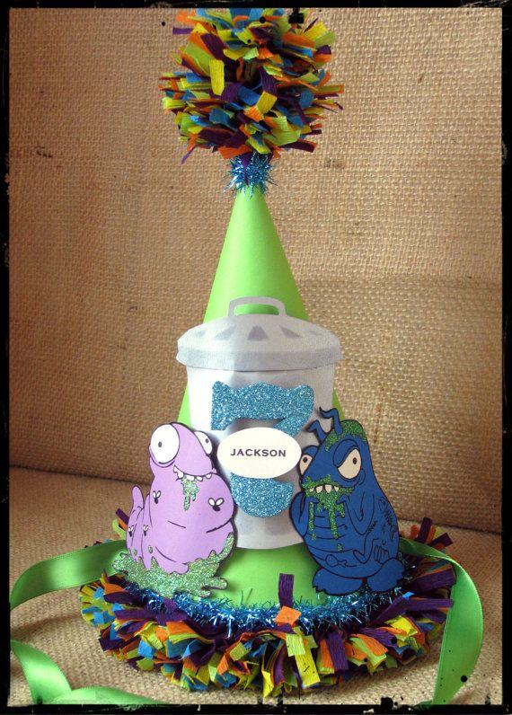 Handmade Trash Pack Birthday Party Hat via Etsy