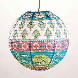 Gypsy Ethnic Hippie Hookah Paper lantern Decoration or Light SHARP