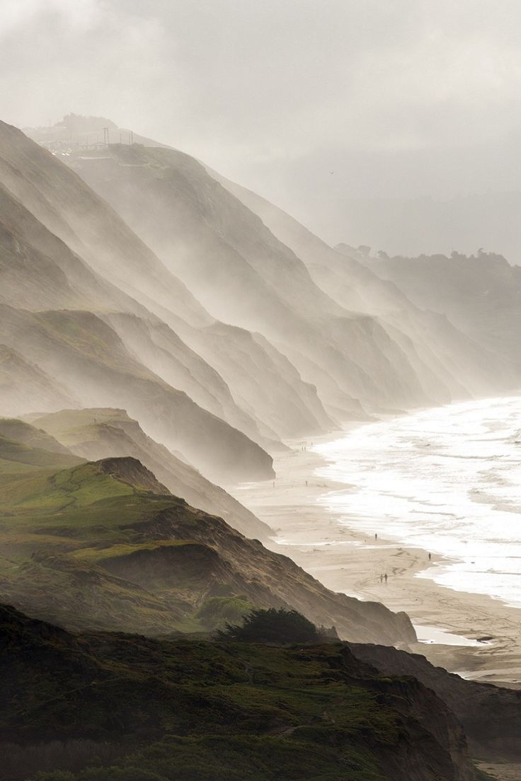 Coast of Northern California (according to some sources)