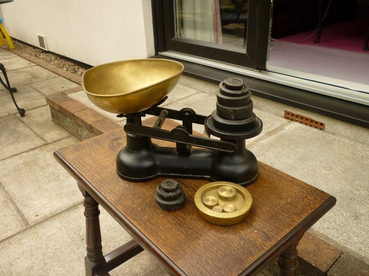 Old Salter weighing Scales