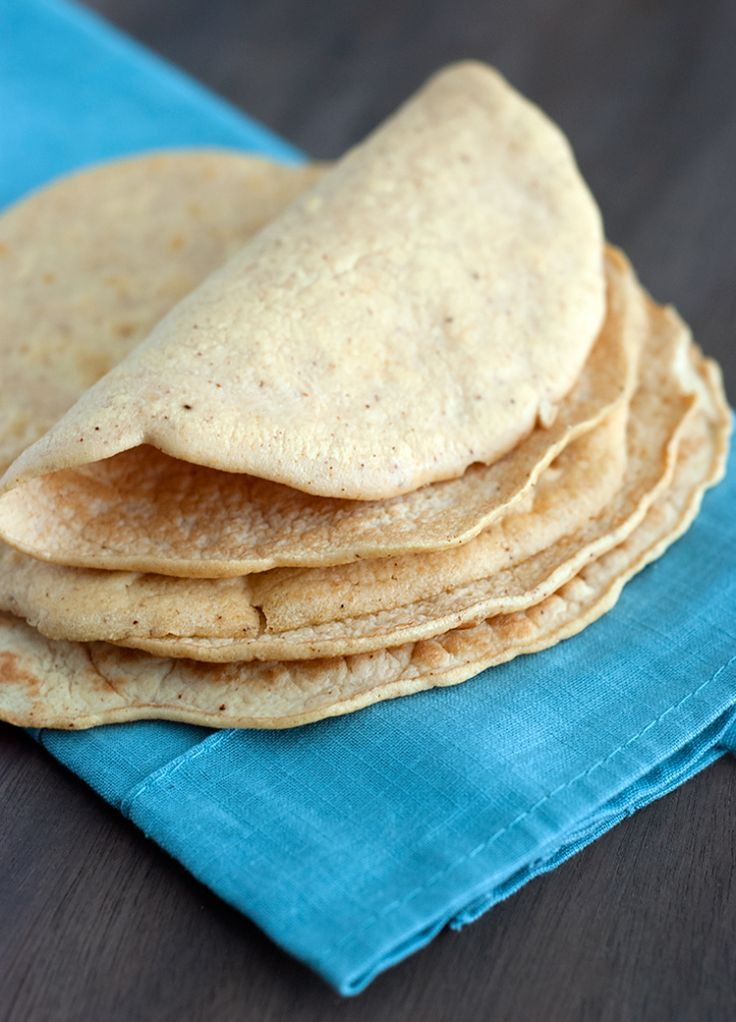 Low Carb Tortilla Recipe - 1.84 net carbs (Coconut flour, egg whites, water, salt, cumin, chili powder or seasonings of choice