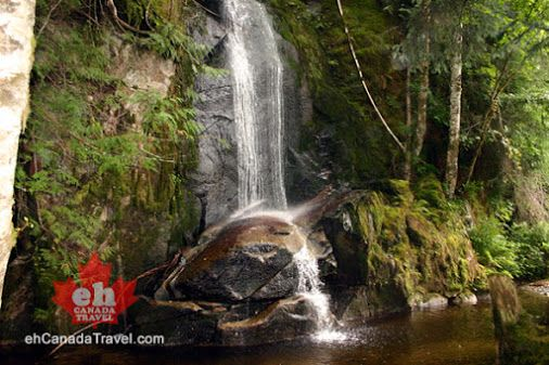 Hidden from sight is a little known secret in Bella Coola, BC we call the Wishing Well Falls.