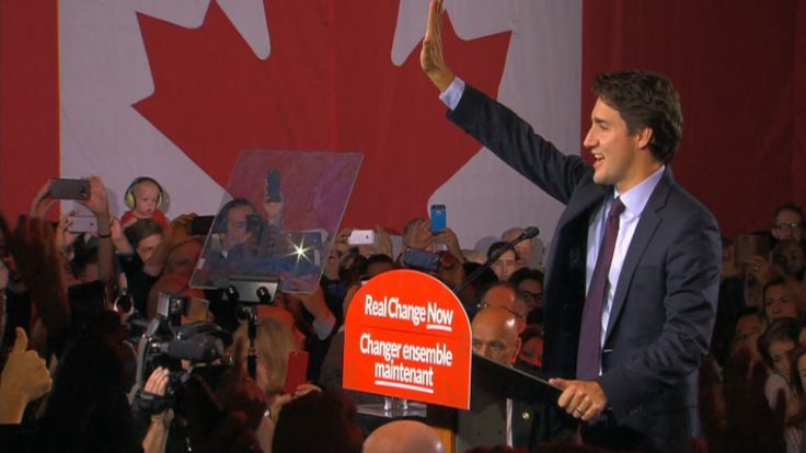 Justin Trudeau will be Canada's next prime minister after leading the Liberal Party to a stunning majority government win, dashing the hopes of Stephen Harper, who had been seeking his fourth consecutive mandate but will now step down as party leader.