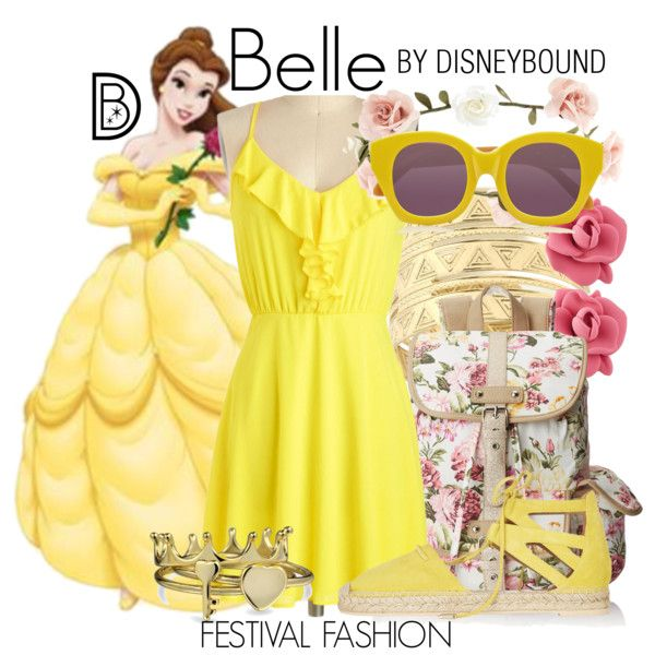 Disney Bound: Belle from Disney's Beauty and the Beast (Festival Fashion Outfit)