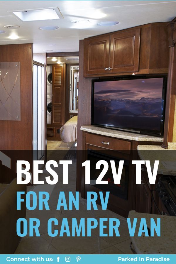 Best 12v Tv For Rv And Campervan Travel Rv Tv Small Travel Trailers Van Life