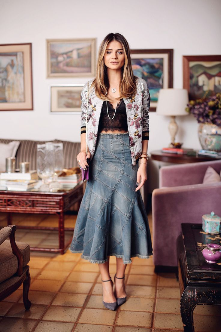 Cropped and midi | Tigresse | Thássia Naves