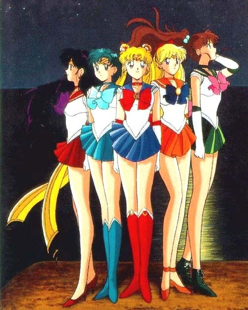 Fighting evil by moonlight  Winning love by daylight  Never running from a real fight  She is the one named Sailor Moon  She will…never turn her back on a friend  She is… always there to defend  She is…the one on whom we can depend  She is the one named Sailor…..  …. Sailor Venus  …. Sailor Mercury  …. Sailor Mars  ….. Sailor Jupiter  With secret powers  All so new to her  She is the one named Sailor Moon  Fighting evil by moonlight  Winning love by daylight  With her Sailor Scouts to help…