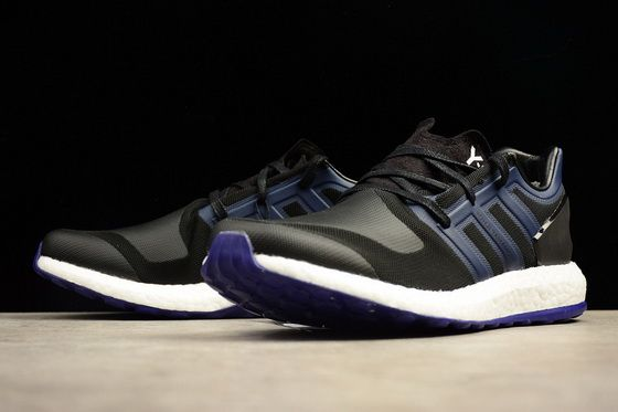 new style 51a2a c2ced Uk Adidas Y 3 Pure Boost Zg Knit Royal Core Black Authentic 2018 Shoe