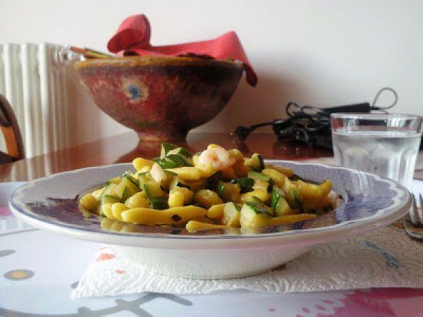 Cavatelli Gialli alle Zucchine Aromatiche
