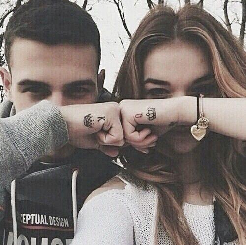 grafika couple, love, and king