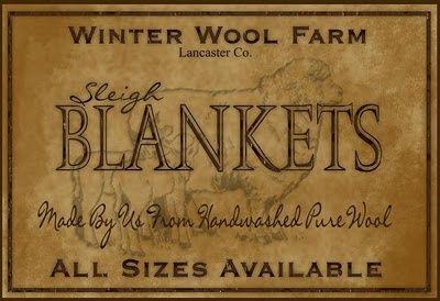 winter weight blankets....;p
