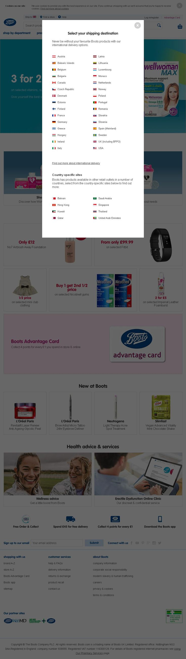 Boots Healthcare (International) Chemists D6 Thane Road   Nottingham Nottinghamshire NG90 6BH | To get more infomration about Boots Healthcare (International), Location Map, Phone numbers, Email, Website please visit http://www.HaiUK.co.uk