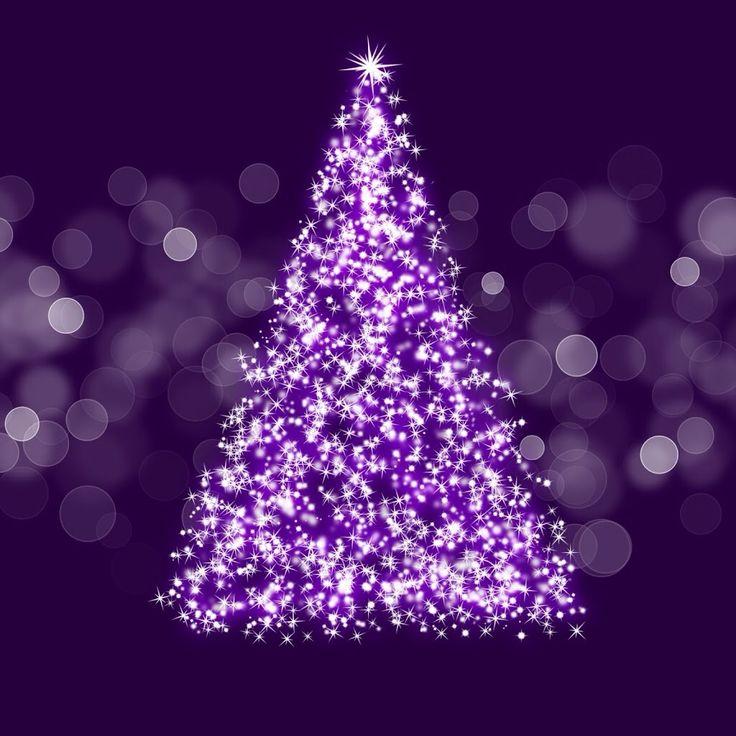 998 best Purple Christmas images on Pinterest | Purple christmas ...