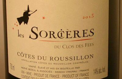 HIPPOVINO: Trois vins rouges pour Halloween - vin rouge - France - Roussillon - Les Sorcières du Clos des Fées - Code SAQ : 11016016