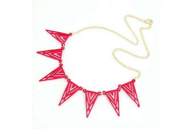 Geometric Necklace by The Nest South Africa on hellopretty.co.za