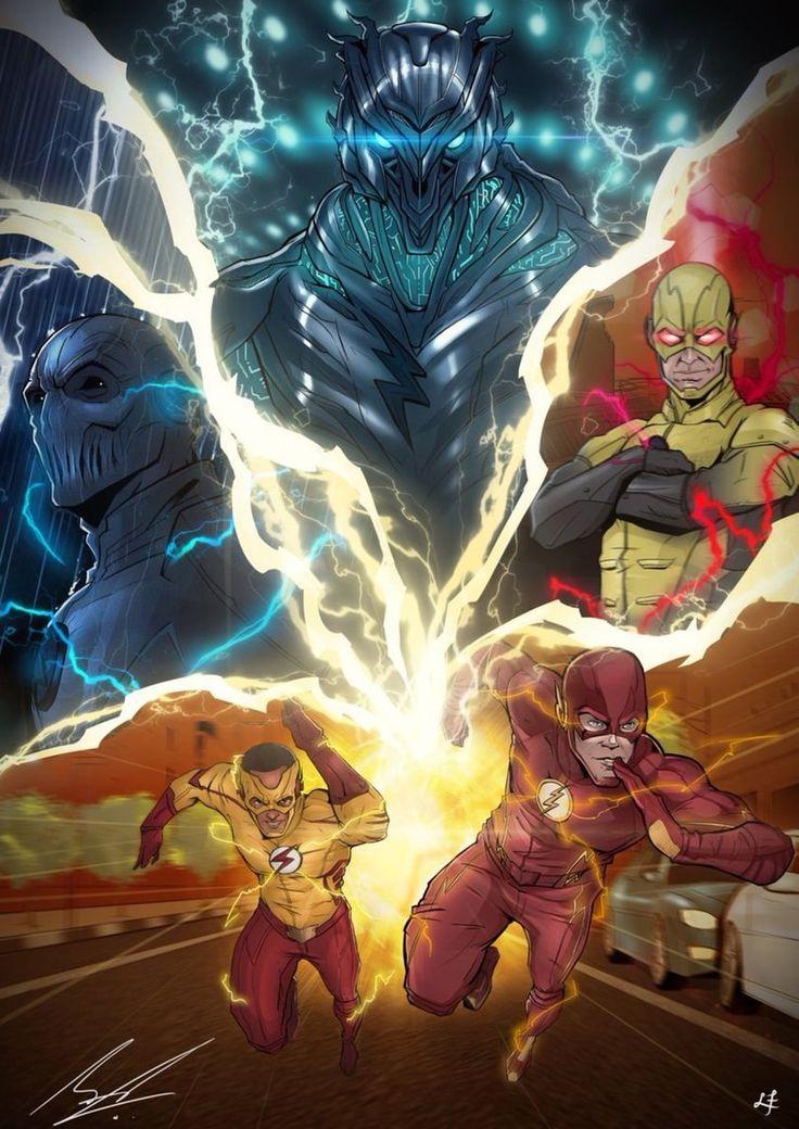 #Flash #KidFlash #ReverseFlash #Zoom #Savitar #CW