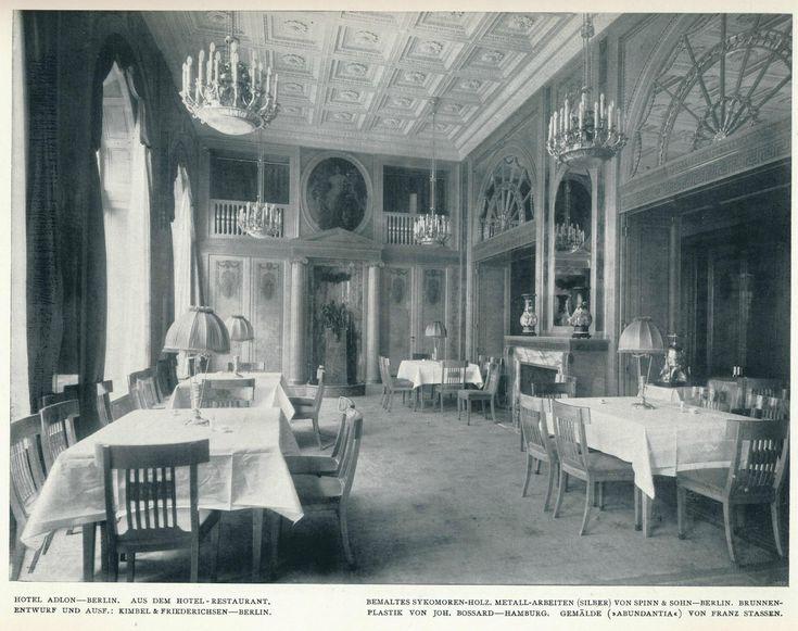 https://flic.kr/p/ycKcd9   Innendecoration 1908 Berlin Hotel Adlon  h1