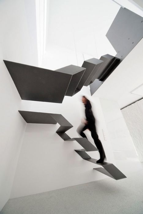 Crazy designs of staircases