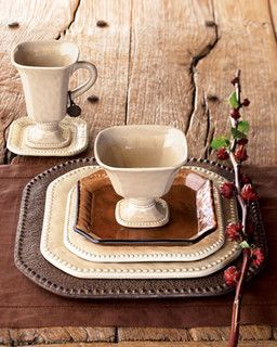 Traditional Dinnerware