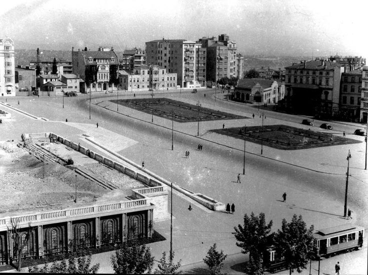 Taksim Square (~1940, Istanbul)